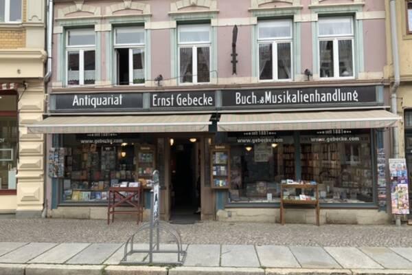 Bild 1 von Buchhandlung und Antiquariat Gebecke e.K.